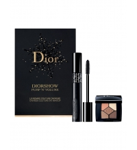 CHRISTIAN DIOR DIORSHOW PUMP´N VOLUME 090 NOIR + SOMBRAS SET REGALO