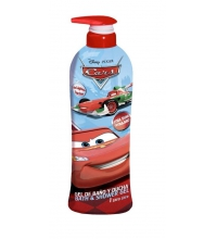 CARS GEL & CHAMPÚ 2 EN 1 1000 ML