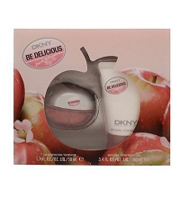DKNY BE DELICIOUS FRESH BLOSSOM EDP 50 ML + B/LOC 100 ML SET REGALO