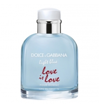 DOLCE & GABBANA LIGHT BLUE LOVE IS LOVE EDT 75ML VP LIMITED EDITION