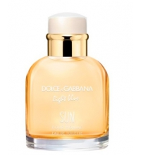 DOLCE & GABBANA LIGHT BLUE SUN POUR HOMME EDT 125 ML