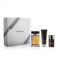 DOLCE & GABBANA THE ONE MEN EDT 150 ML + DEO STICK 75 ML + GEL 50 ML SET REGALO