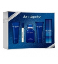 DON ALGODON HOMBRE EDT 100 ML+DEO 150ML+GEL 75ML+AFTER SHAVE 75ML+MINI 10ML SET REGALO