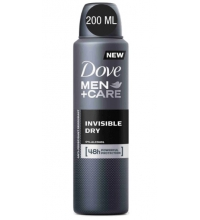 DOVE DESODORANTE FOR MEN INVISIBLE DRY SPRAY 200 ML
