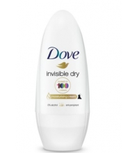 DOVE DESODORANTE MUJER INVISIBLE DRY ROLL ON 50 ML