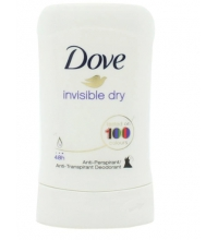 DOVE DESODORANTE MUJER INVISIBLE DRY STICK 40 ML