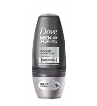 DOVE DESODORANTE HOMBRE SILVER ROLL ON 50 ML
