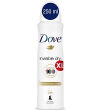 DOVE DESODORANTE MUJER INVISIBLE DRY VAPORIZADOR 250 ML