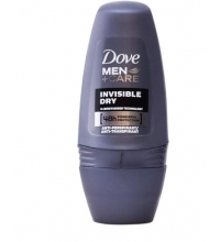 DOVE DESODORANTE FOR MEN INVISIBLE DRY ROLL ON 50 ML