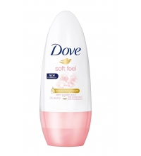 DOVE SOFT FEEL DESODORANTE ROLL ON 50 ML