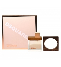 DSQUARED SHE WOOD EDP 100 ML + PULSERA SET REGALO
