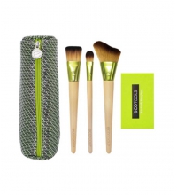 ECOTOOLS TRAVEL AND GLOW SET DE BROCHAS