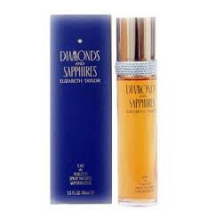 ELIZABETH TAYLOR DIAMONDS AND SAPHIRES EDT 50 ML