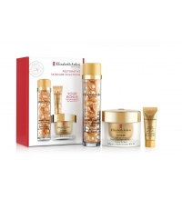 ELIZABETH ARDEN CERAMIDE CAPSULES YOUTH RESTORING SERUM 30 CAPS + DAY CREAM 30 ML + SERUM 5 ML SET REGALO