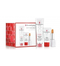ELIZABETH ARDEN EIGHT HOUR SET EIGHT HOUR CREAM 50 ML  CREMA MANOS 30 ML + LIP PROTECTANT