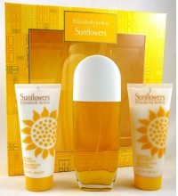 ELIZABETH ARDEN SUNFLOWERS EDT 100 ML + B/L 100 ML + CREAM CLEANSER 100 ML SET