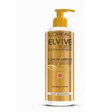 L'OREAL ELVIVE LOW ACEITE EXTRAORDINARIO CHAMPU CABELLOS SECOS 400ML