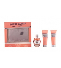 ENRIQUE IGLESIAS WOMAN DEEPLY SET 3 PIEZAS EDT 90 ML VP. + S/G 75 ML + B/L 75 ML