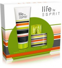 ESPRIT LIFE MEN EDT 30 ML + SHOWER GEL 75 ML SET REGALO