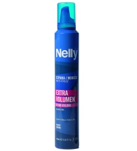 NELLY ESPUMA ANTI-FRIZZ EXTRA VOLUMEN  250 ML