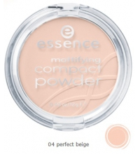 ESSENCE POLVOS COMPACTOS MATIFICANTES 04 PERFECT BEIGE 0.42oz/ 12g
