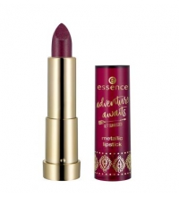 ESSENCE ADVENTURE AWAITS BARRA DE LABIOS METALLIC 01 KISSES FROM THE ORIENT