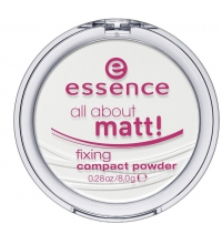 ESSENCE POLVOS COMPACTOS MATIFICANTES ALL ABOUT MATT ! 0.28oz/8g