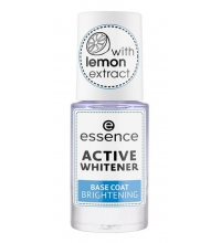 ESSENCE BASE DE UÑAS BLANQUEADORA ACTIVE WHITENER 8ML