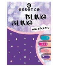 ESSENCE NAIL ART STICKERS PARA UÑAS 01 BLING BLING
