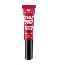 ESSENCE BARRA LABIOS LÍQUIDA COLOUR BOOST MAD ABOUT MATTE 07 SEEING RED