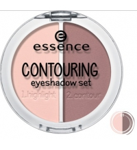 ESSENCE SET SOMBRAS DE OJOS CONTOURNING 01 MAUVE MEETS MARSHMALLOWS