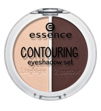 ESSENCE SET SOMBRAS DE OJOS CONTOURNING 04 COFFE 'N' CREAM