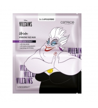 CATRICE DISNEY VILLAINS MASCARILLA FACIAL HIDRATANTE URSULA 2 X 15 ML