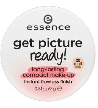 ESSENCE MAQUILLAJE POLVOS COMPACTOS GET PICTURE READY ! 20 MATT NUDE
