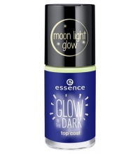 ESSENCE GLOW IN THE DARK TOP COAT 36 GIRL ON THE MOON 8 ML