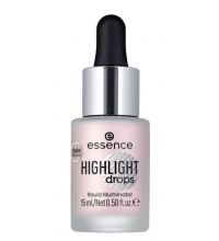 ESSENCE HIGHLIGHT DROPS LIQUID ILLUMINATOR 20 ROSY AURA 15ML