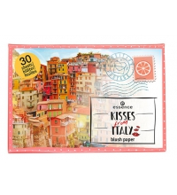 ESSENCE KISSES FROM ITALY COLORETE EN LAMINAS DE PAPEL 01 AMALFI'S LOVE STORY