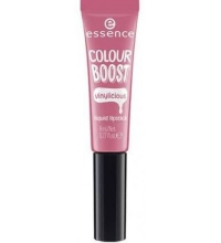 ESSENCE BARRA DE LABIOS LIQUIDA COLOUR BOOST VINYLICIOUS 03 PINK INTEREST 8ML