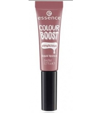 ESSENCE BARRA DE LABIOS LIQUIDA COLOUR BOOST VINYLICIOUS 04 WOODY ROSY 8ML