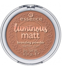 ESSENCE LUMINOUS MATT POLVOS BRONCEADO 02 SUNGLOW