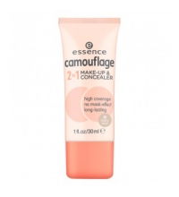 ESSENCE CAMOUFLAGE 2 IN 1 MAQUILLAJE-CORRECTOR 10 IVORY BEIGE
