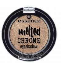 ESSENCE MELTED CHROME EYESHADOW 08 GOLDEN CROWN