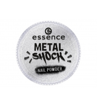 ESSENCE METAL SHOCK PIGMENTO DE UÑAS 01 MIRROR, MIRROR ON THE NAIL
