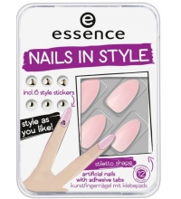 ESSENCE NAILS STYLE MANICURA ARTIFICIAL 03