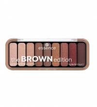 ESSENCE PALETA DE SOMBRAS THE BROWN EDITION