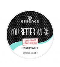 ESSENCE POLVOS COMPACTOS FIJADORES YOU BETTER WORK!