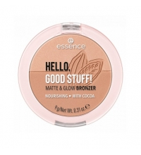 ESSENCE POLVOS BRONCEADORES HELLO, GOOD STUFF! MATE & GLOW 20 COCOA-KISSED
