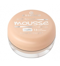 ESSENCE SOFT TOUCH MAQUILLAJE EN MOUSSE 13 MATT PORCELAIN