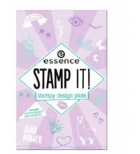 ESSENCE STAMP IT!PLACA PARA UÑAS STAMPY 01