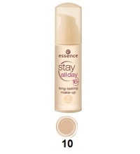 ESSENCE STAY DAY 16H MAQUILLAJE DE LARGA DURACIÓN 30 ML 10 SOFT BEIGE